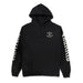 BORN 4 HUNNID ROCKER HOODY: BLACK