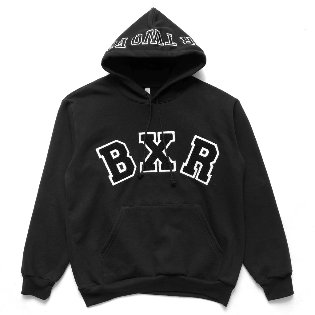 COLLEGE PARK HOODY: BLACK