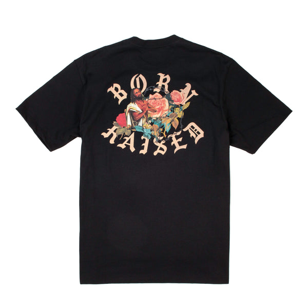 BLACK JESUS T-SHIRT: BLACK