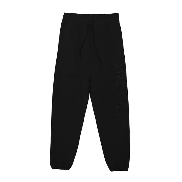 TONAL SWEATPANTS: VINTAGE BLACK