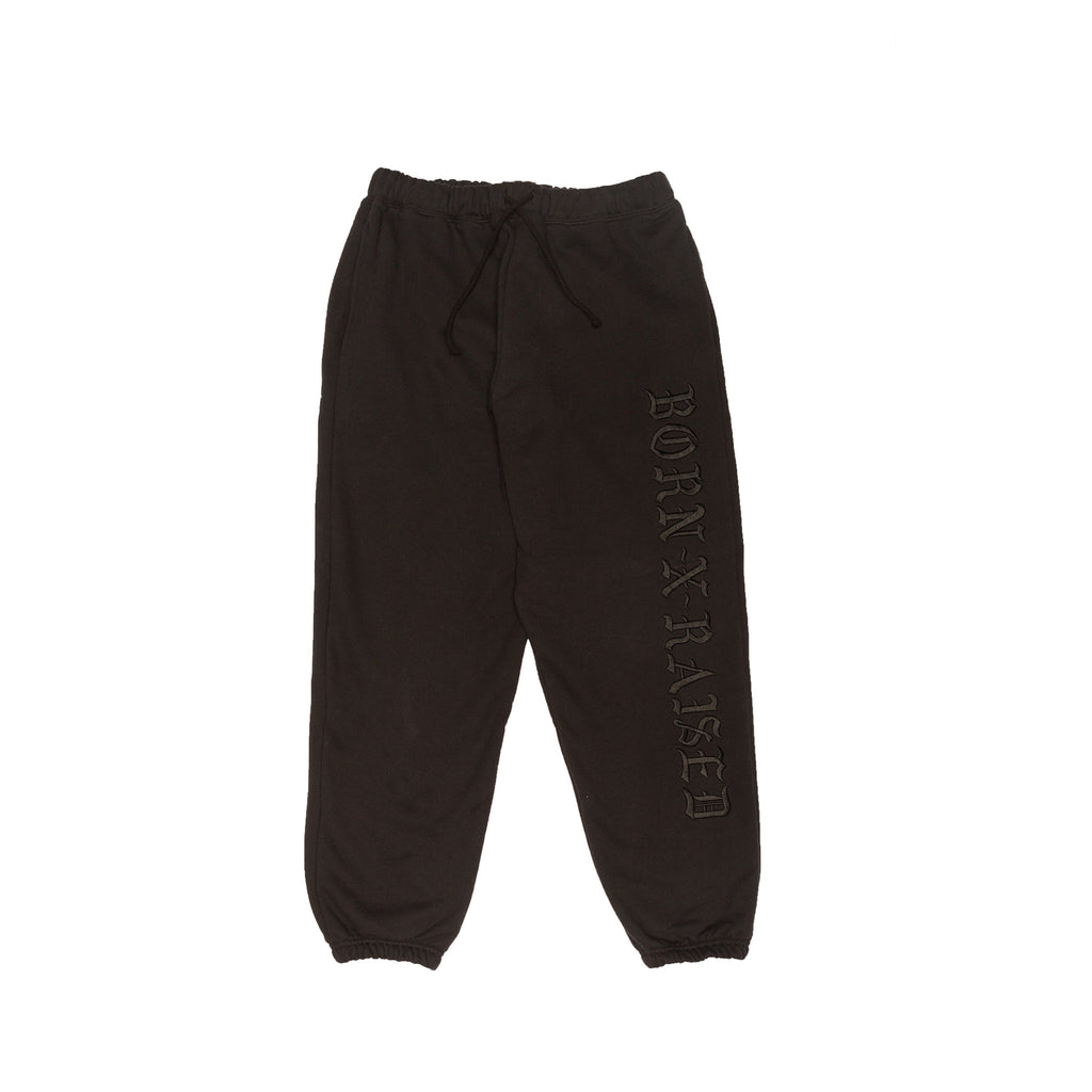 BXR TONAL SWEATS: BLACK