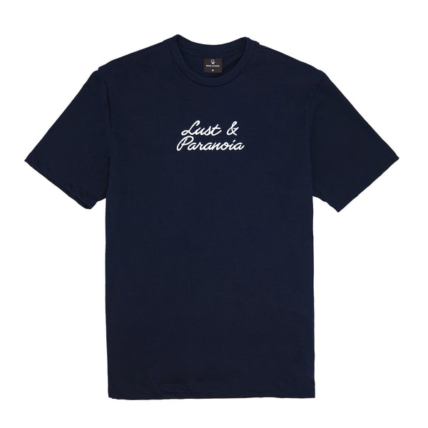 COCAINE T-SHIRT: NAVY