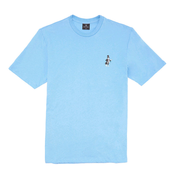 SNOOTY FOX T-SHIRT: POWDER BLUE