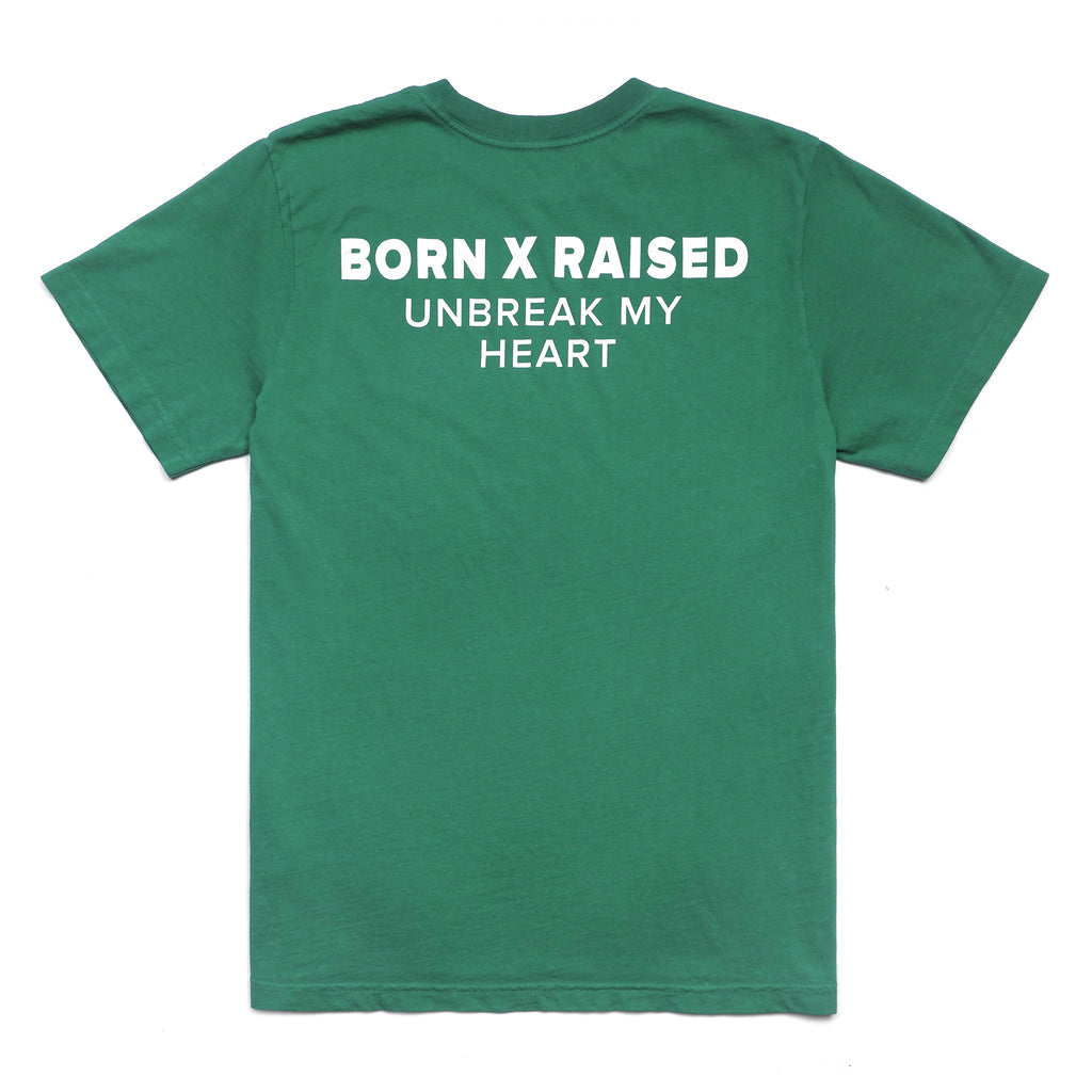 UNBREAK MY HEART T-SHIRT: GREEN