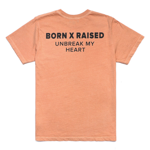 UNBREAK MY HEART T-SHIRT: DUSTY ROSE