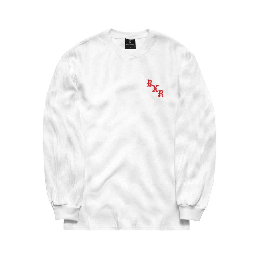 BXR WAFFLE THERMAL: WHITE