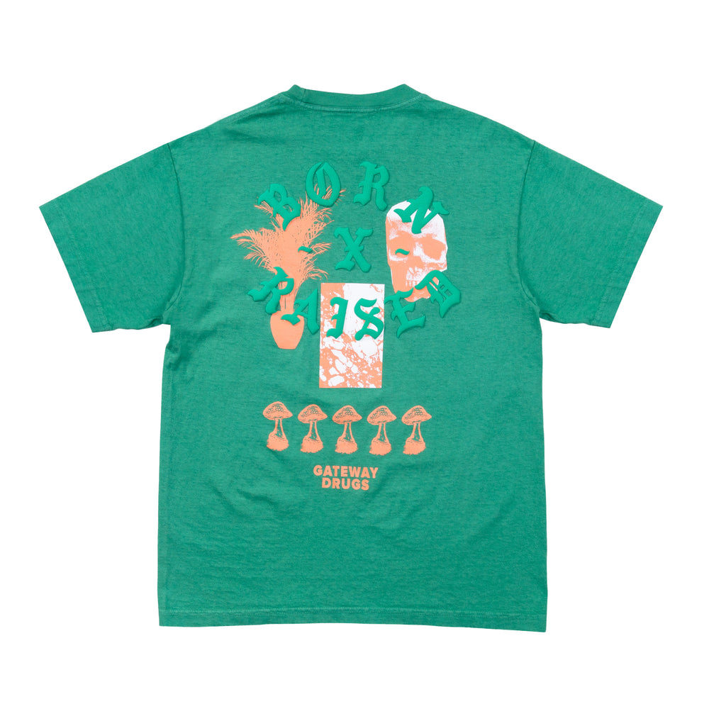 GATEWAY DRUGS T-SHIRT: GREEN SPRUCE