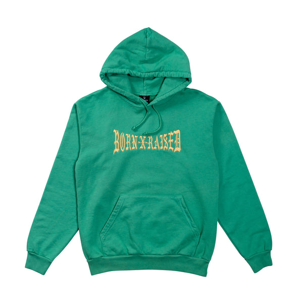 BOXER HOODY: GREEN SPRUCE