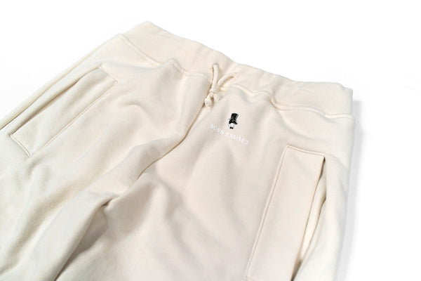 SUNDAYS SWEATPANTS: CREAM