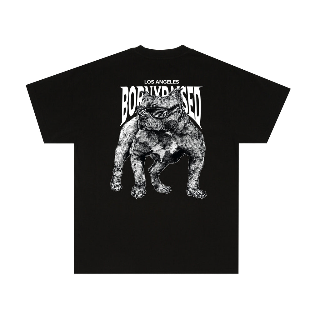 DOGG POUND TEE: BLACK