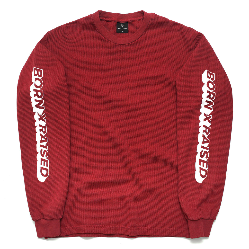 CORPORATE WAFFLE THERMAL: BURGUNDY