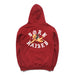 FALLEN ANGEL HOODY: BURGUNDY