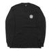 IMMACULATE HEART LONGSLEEVE TEE: BLACK