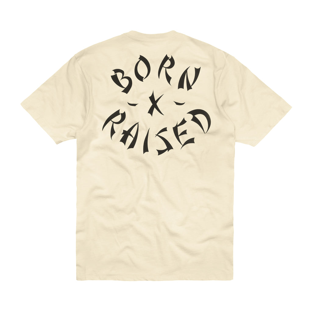 WESTSIDE ROCKER T-SHIRT: CREAM