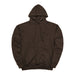 BXR TONAL PULLOVER: BROWN