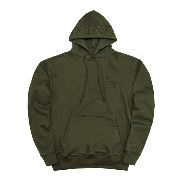 BXR TONAL PULLOVER: ARMY