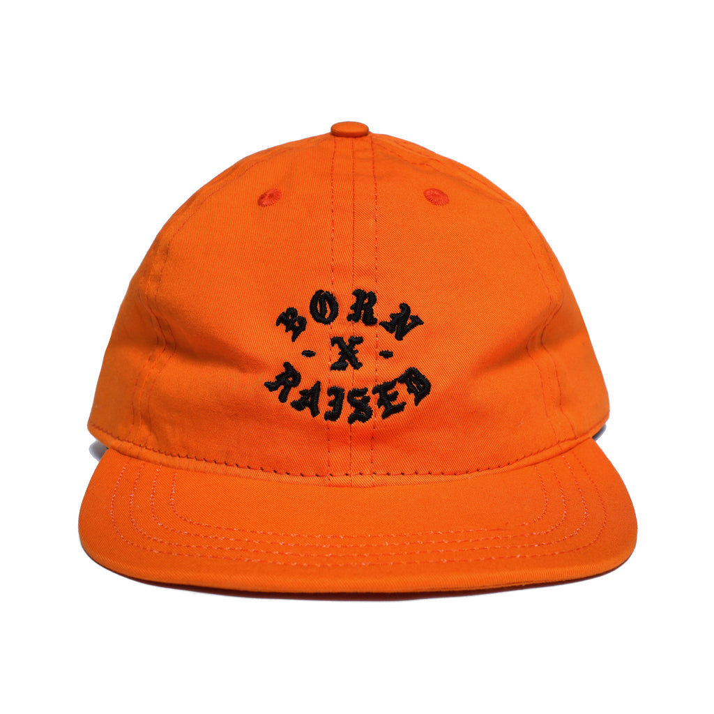 ROCKER STRAPBACK HAT: ORANGE