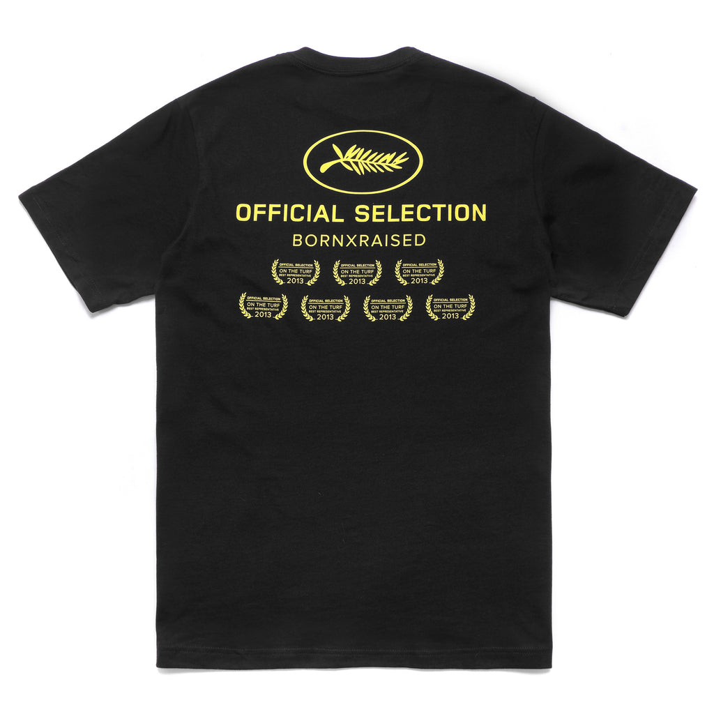 OFFICIAL SELECTION T-SHIRT: BLACK