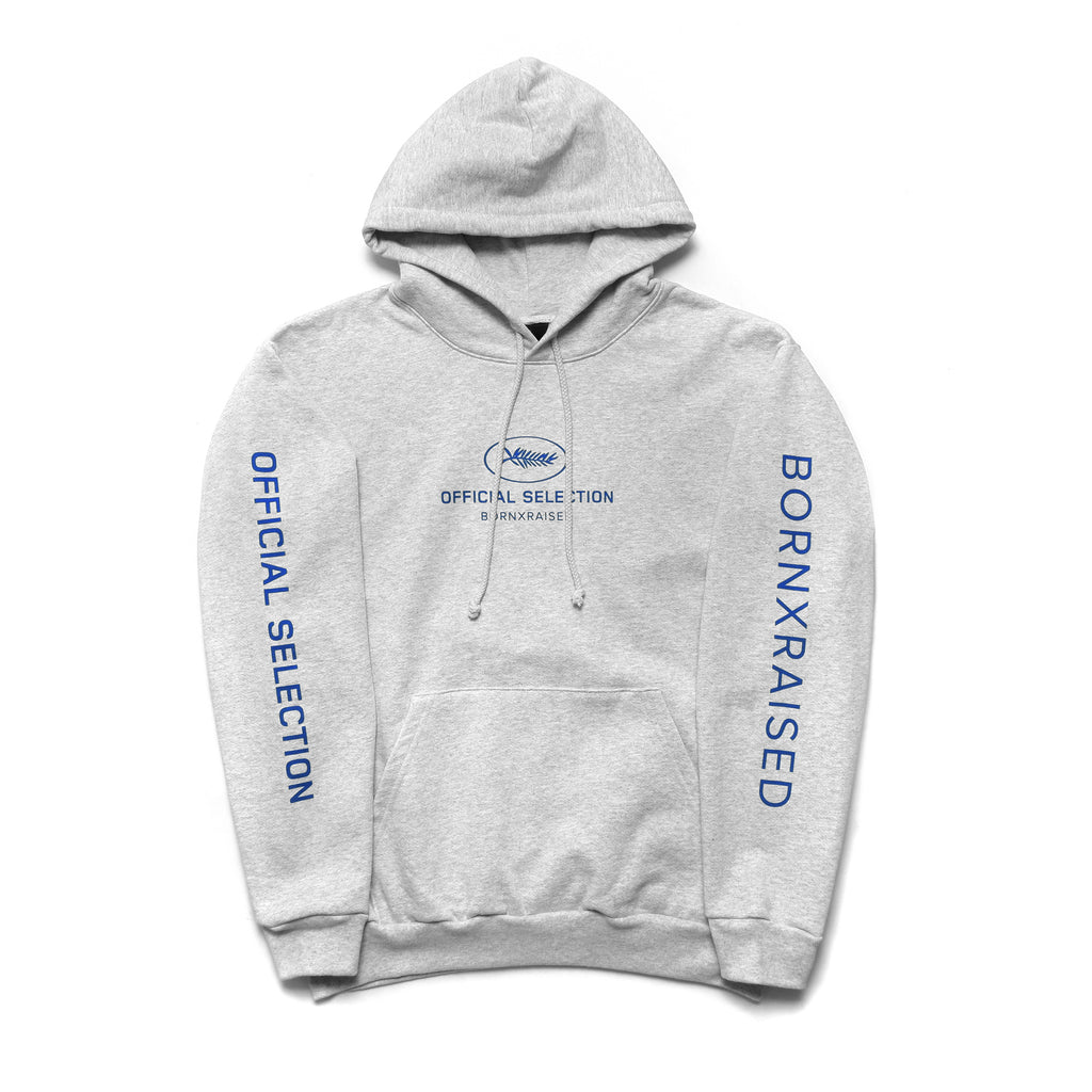 OFFICIAL SELECTION HOODY: HEATHER GREY