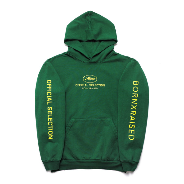 OFFICIAL SELECTION HOODY: GREEN