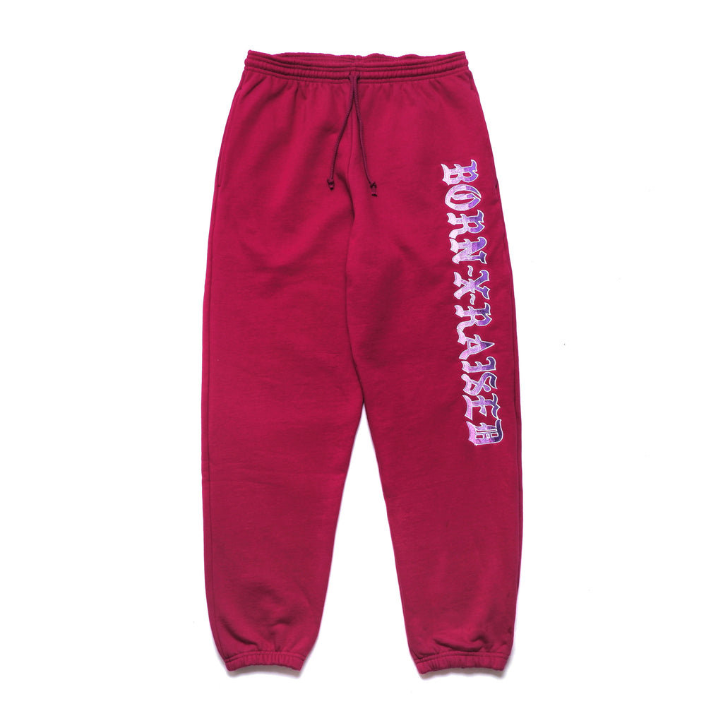 BXR GRADIENT SWEATS: PURPLE