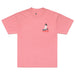 AQUA NET T-SHIRT: DUSTY ROSE