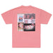 PARTY SQUARE T-SHIRT: DUSTY ROSE