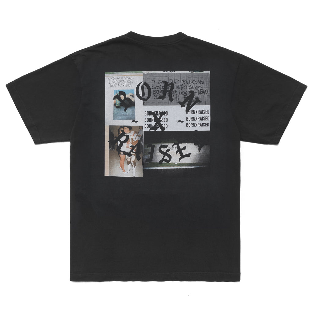 PARTY SQUARE T-SHIRT: VINTAGE BLACK