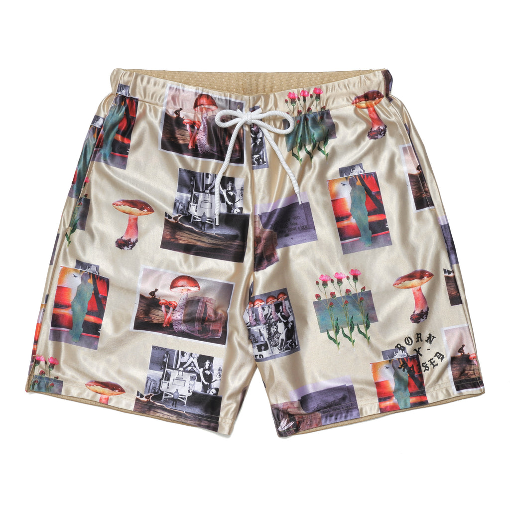 AFTER SCHOOL BASKETBAL SHORTS: KHAKI
