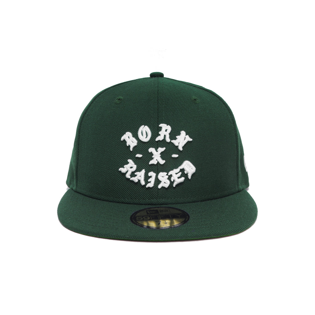 NEW ERA ROCKER FITTED: DARK GREEN
