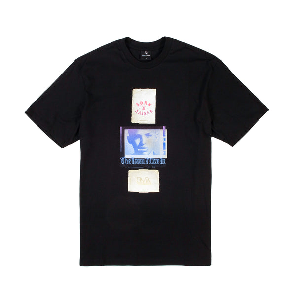 EUGENE T-SHIRT: BLACK