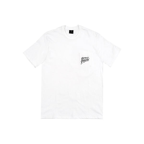 RUNNER POCKET TEE: WHITE