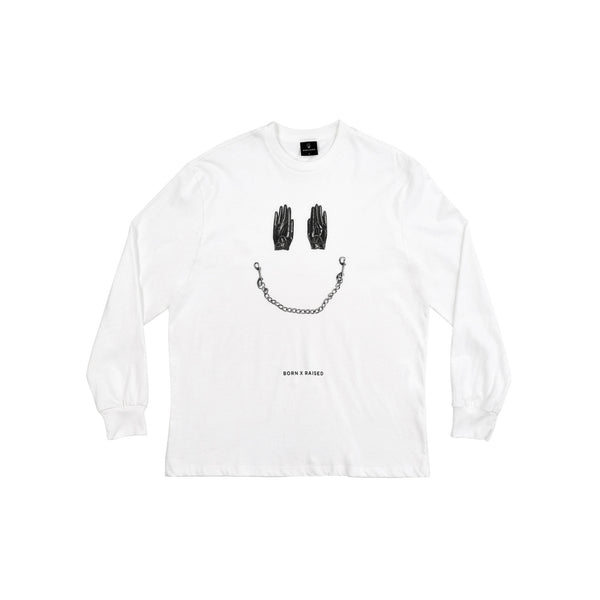 SMILE LONGSLEEVE: WHITE