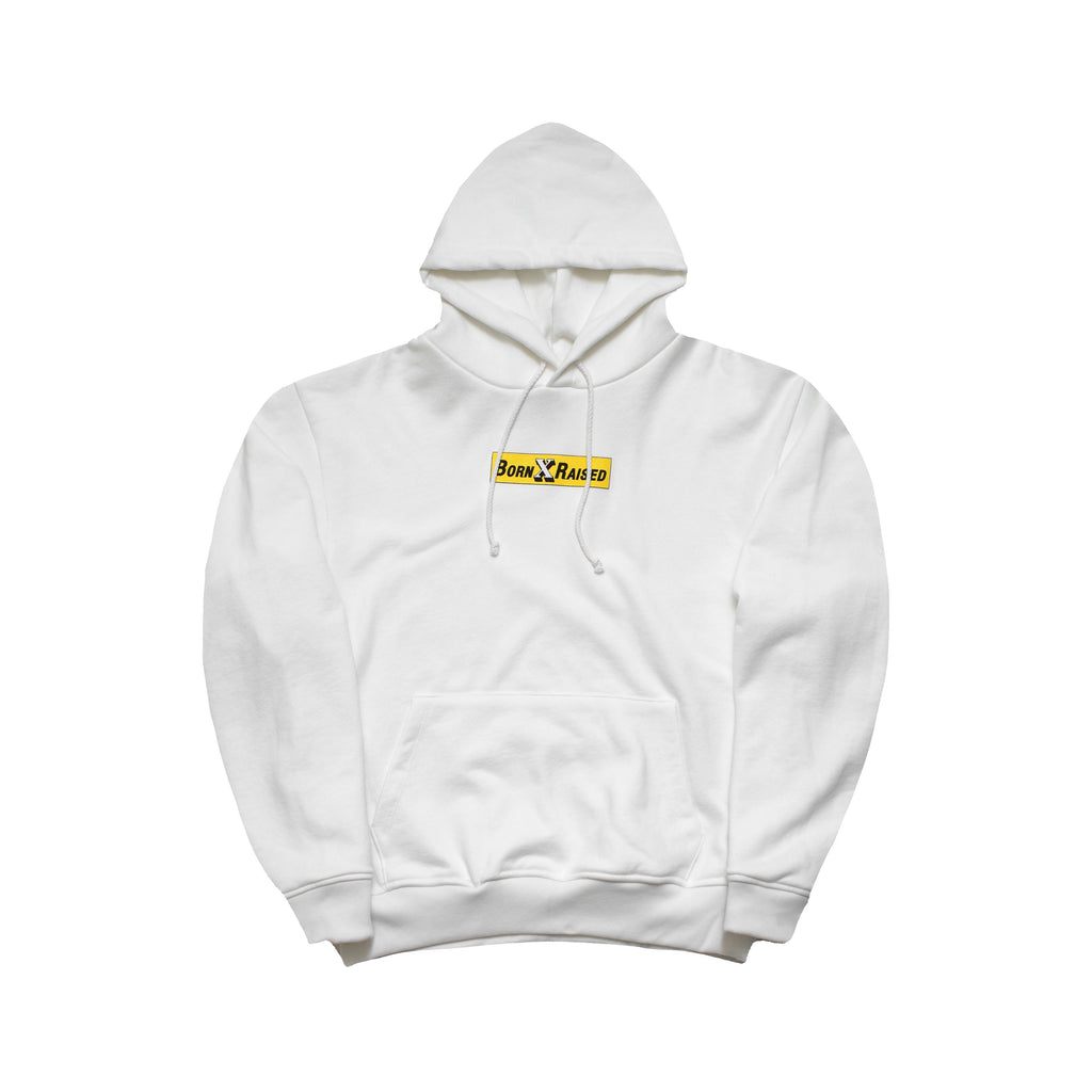 FOOD CO. PULLOVER: WHITE