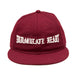 IMMACULATE HEART SNAPBACK: BURGUNDY
