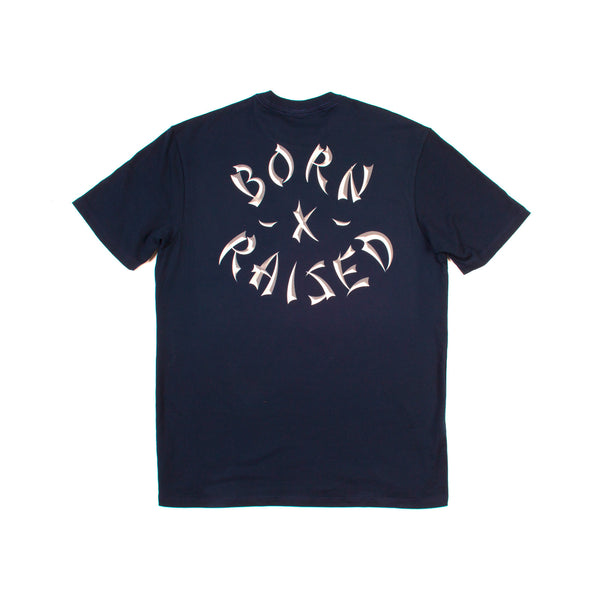 WESTSIDE ROCKER TEE: NAVY
