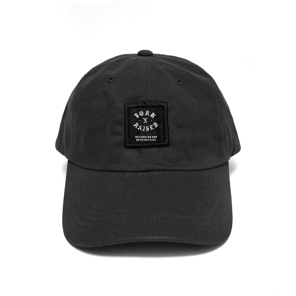 BXR LABEL HAT: BLACK