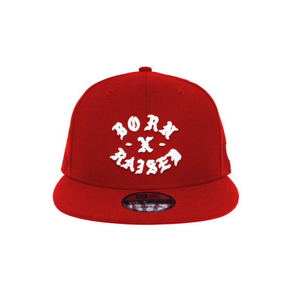NEW ERA ROCKER SNAP BACK: RED