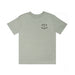 ROCKER TEE: HEATHER GREY
