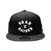 NEW ERA FITTED ROCKER HAT: BLACK