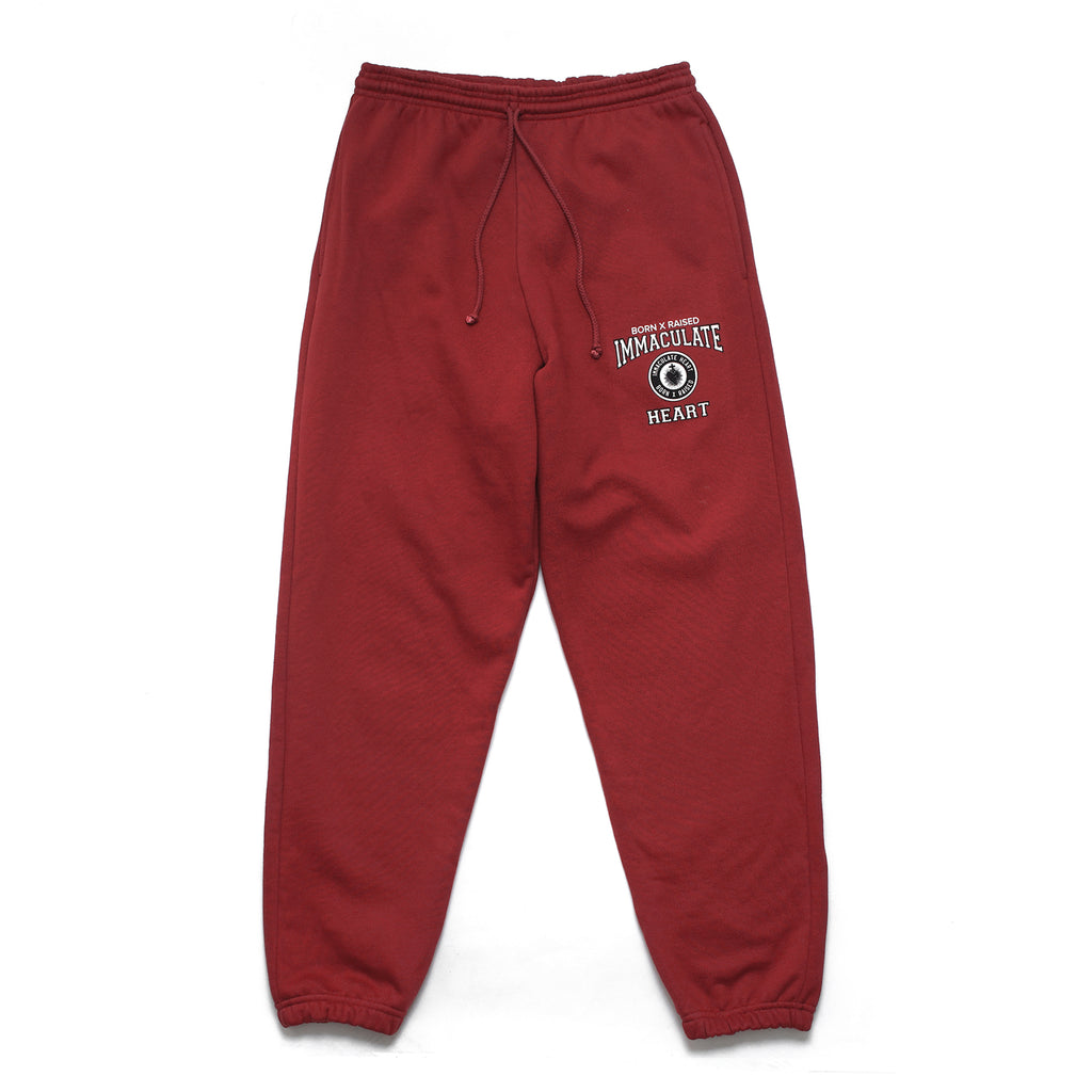 SCHOOL UNIFORM SWEATS: BURGUNDY