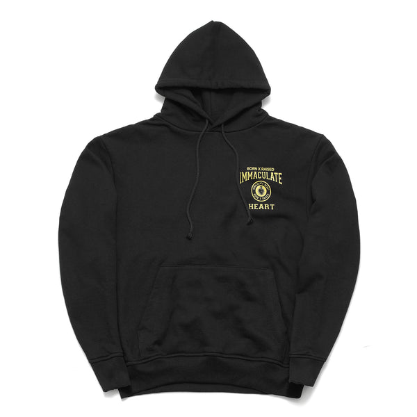 SCHOOL UNIFORM HOODY: BLACK