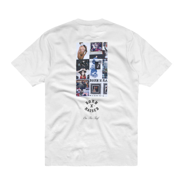 SHERM T-SHIRT: WHITE