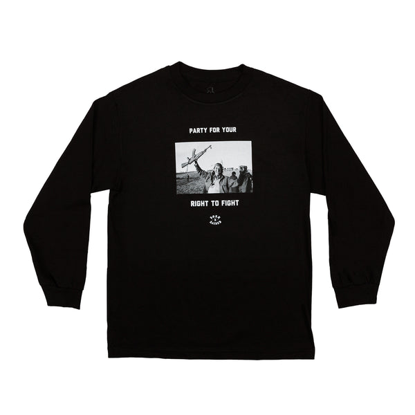 FIGHT PARTY L/S: BLACK
