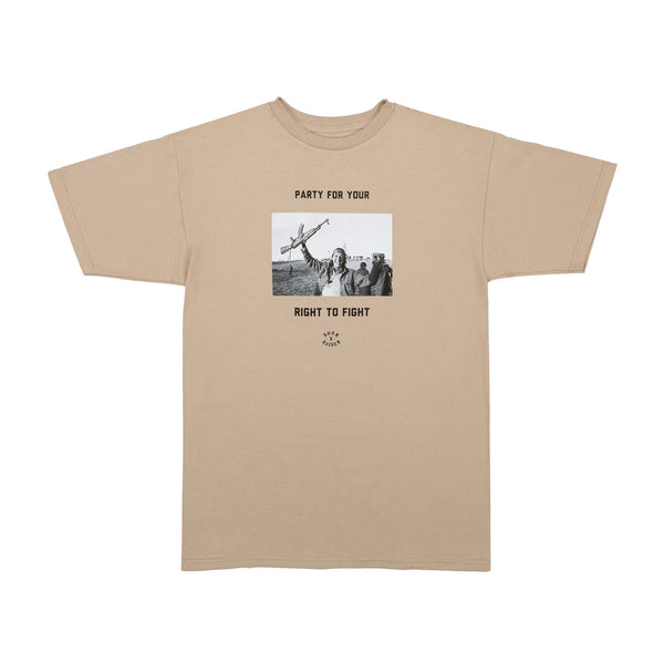 FIGHT PARTY TEE: SAND