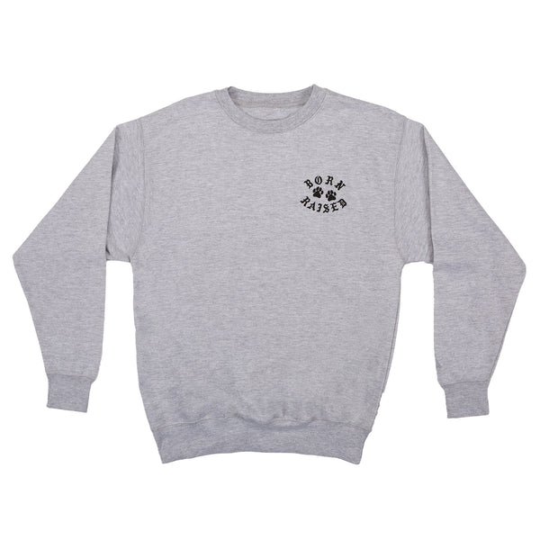 YOU PLAY YOU PAY CREWNECK: HEATHER GREY