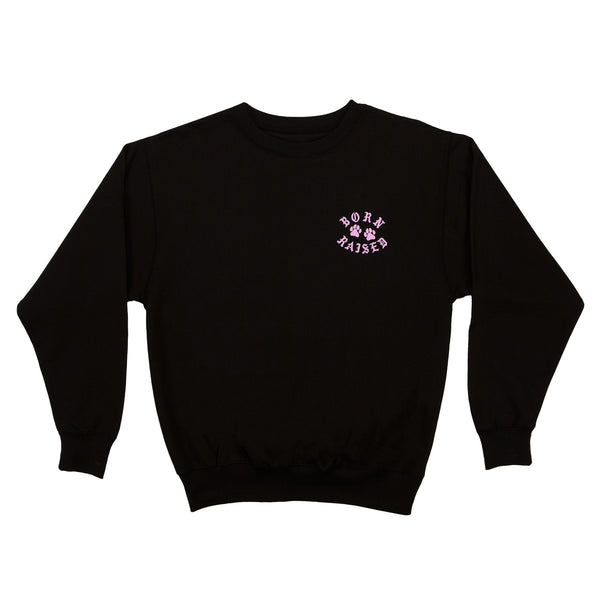 YOU PLAY YOU PAY CREWNECK: BLACK