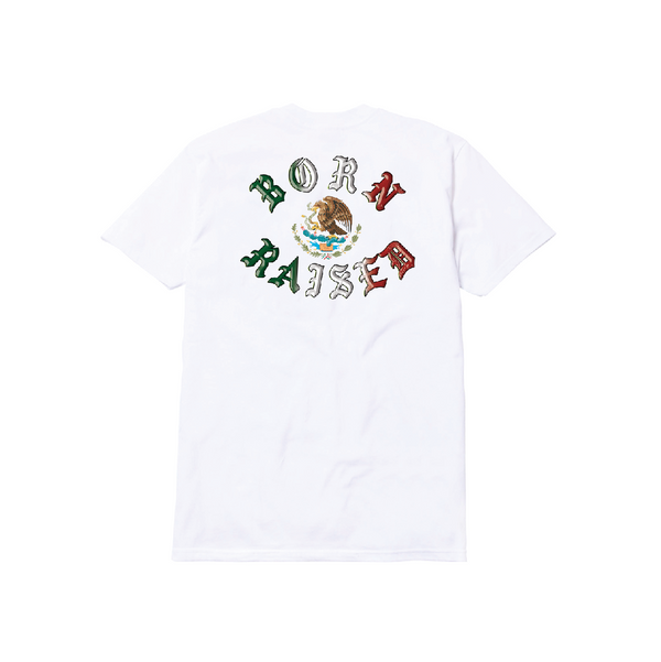 TENOCHTITLAN TEE: WHITE