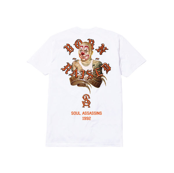 LOST ANGEL TEE: WHITE