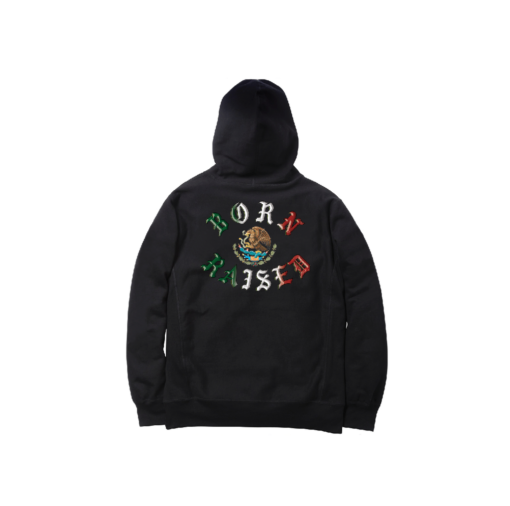 TENOCHTITLAN HOODY: BLACK